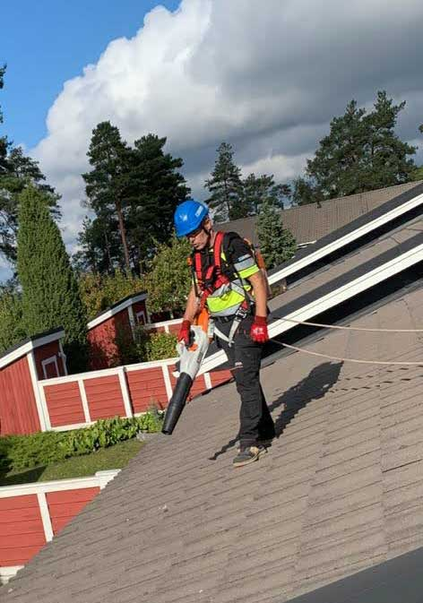 Kattojen pesu Uusikaupunki
